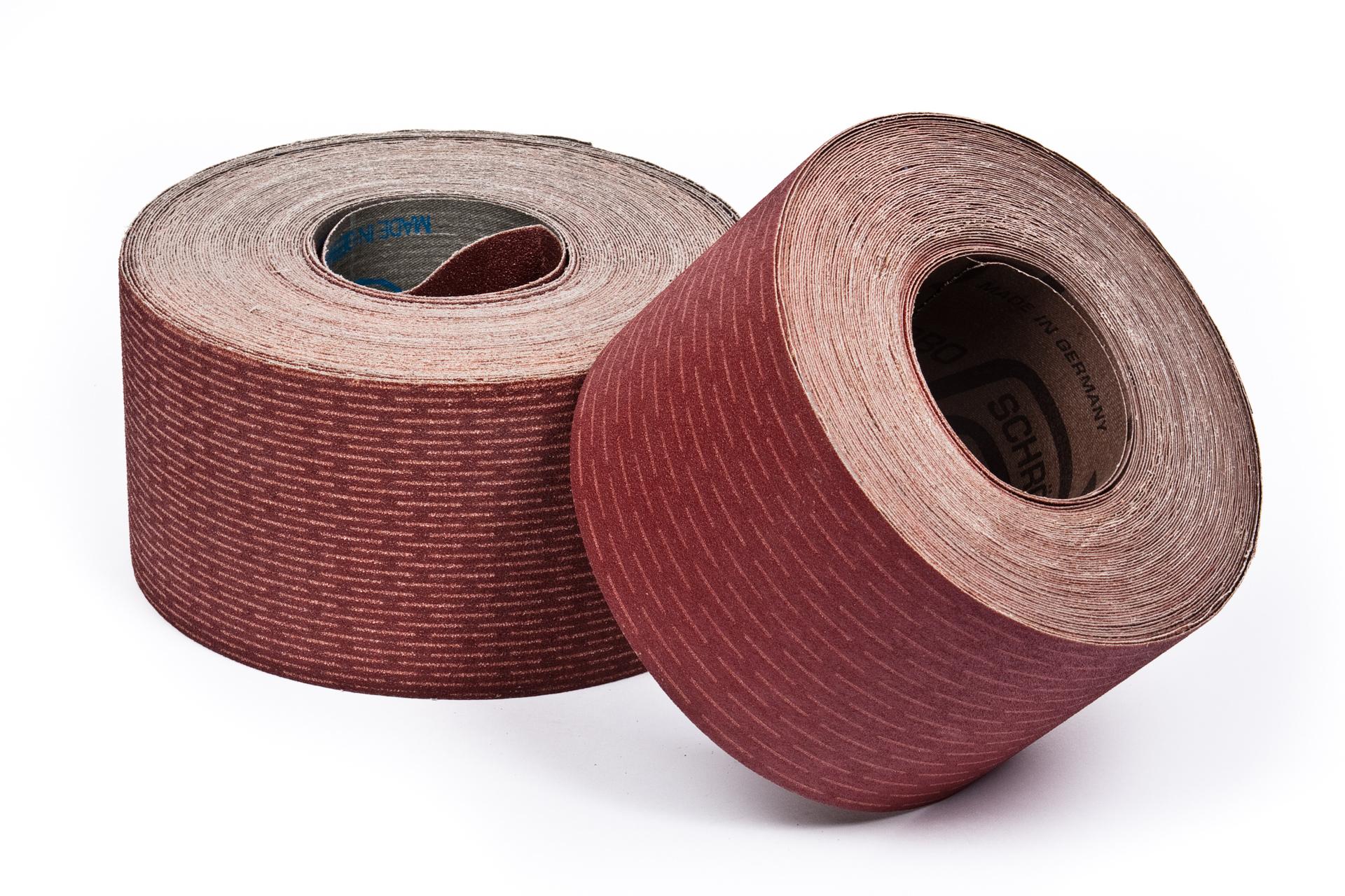 slashed sanding rolls