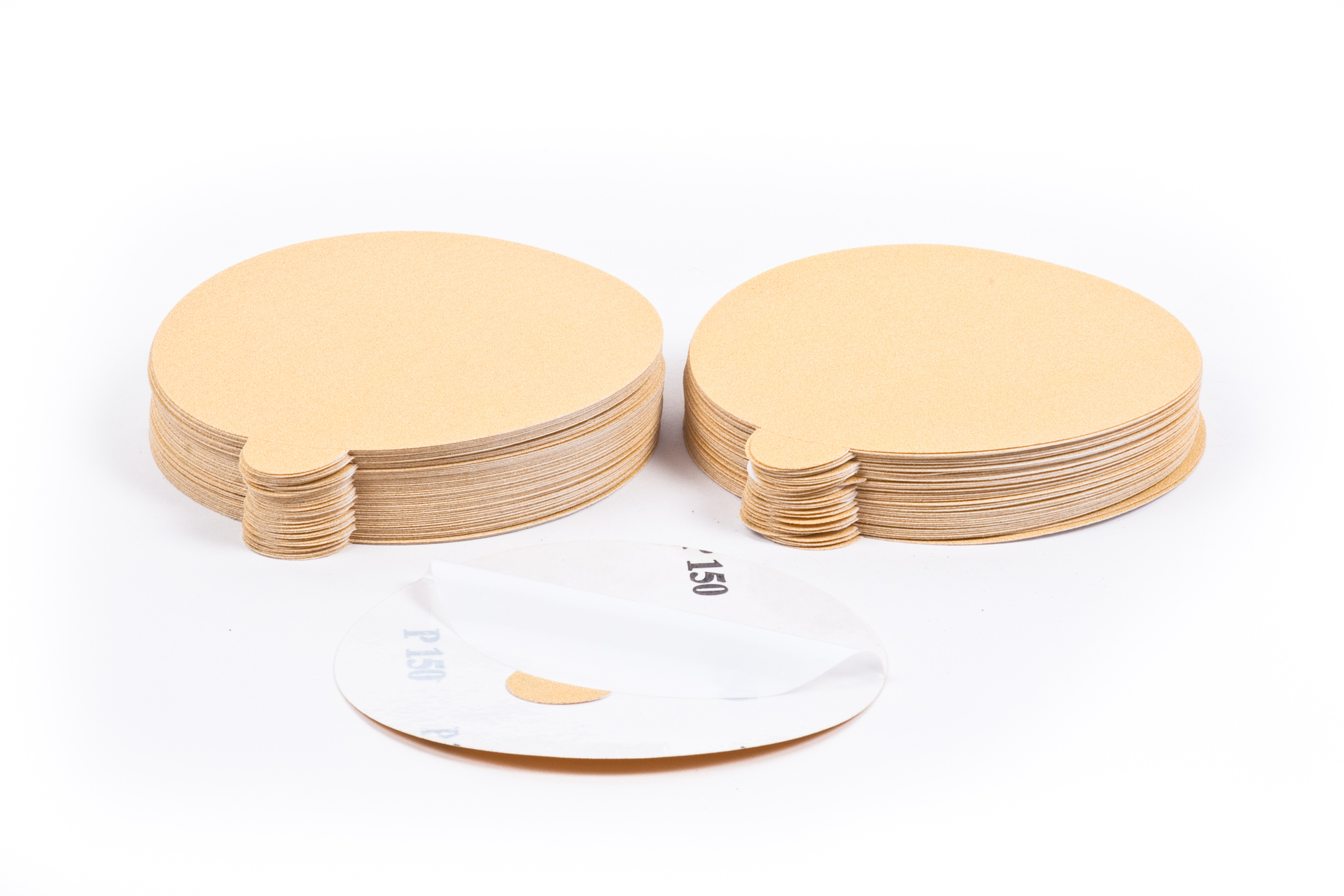 paper psa and velcro sanding discs